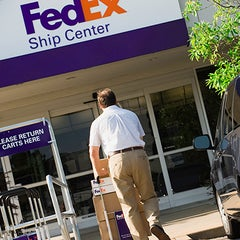Photo taken at FedEx Ship Center by Mr F. on 9/14/2015