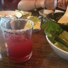 Photo taken at Dos Caminos by Helen M. on 6/15/2013