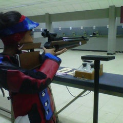 Photo taken at Perbakin Shooting Range by Irfan A. on 7/12/2013