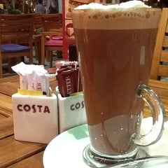 Photo taken at Costa Coffee by Ahmed S. on 5/12/2013