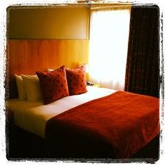 Photo taken at Apex City Hotel by dodosuke0920 on 9/16/2012