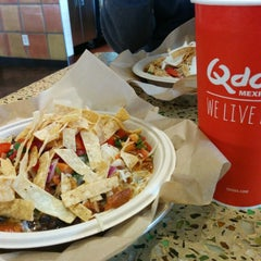 Photo taken at Qdoba Mexican Grill by Erik Y. on 4/14/2014