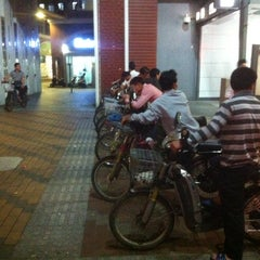 Photo taken at 大新地铁站 Daxin Metro Sta. by ikach on 4/24/2013