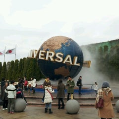 Photo taken at ユニバーサル・スタジオ・ジャパン (Universal Studios Japan / USJ) by chiaki_k on 12/15/2012