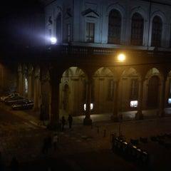 Photo taken at Piazza Verdi by Gian Luca C. on 1/7/2013