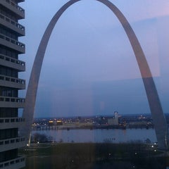 Photo taken at Drury Plaza Hotel - St. Louis at the Arch by Christopher C. on 3/23/2013