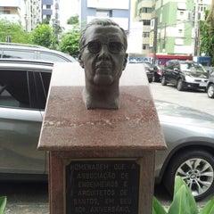 Photo taken at AEA - Associação dos Engenheiros e Arquitetos de Santos by Cassiano A. on 12/2/2012