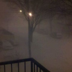 Photo taken at Snowpocalypse 2011 - Milwaukee by Stephanie S. on 2/4/2011