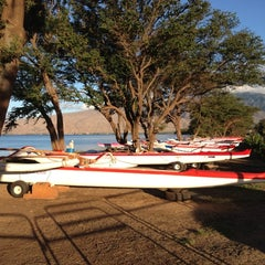 Photo taken at Maui Canoe Club by Rick L. on 9/4/2012