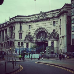 Photo taken at London Waterloo Railway Station (WAT) by Fizzycitrus on 7/2/2013