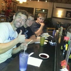 Photo taken at Hana Japanese Restaurant by Adam M. on 10/20/2012
