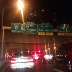 Photo taken at I-84 -- Hartford by J. P. on 9/26/2012