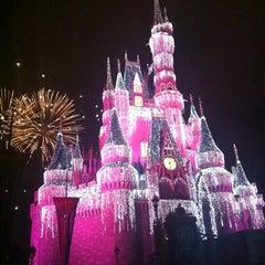 Photo taken at Cinderella Castle by Nayara B. on 12/5/2012