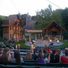 Photo taken at Delacorte Theater by Joanna W. on 7/27/2013
