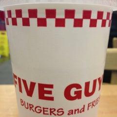 Photo taken at Five Guys by David J. on 11/21/2012