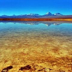 Photo taken at Laguna Cejar by nomadbiba on 6/3/2013