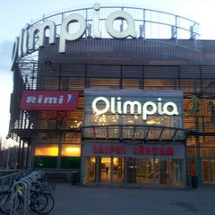 Photo taken at Olimpia by Andris R. on 5/1/2013