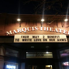 Photo taken at Marquis Theatre by Thomas Cole O. on 5/3/2013
