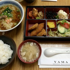 Photo taken at Yama Japanese Restaurant by rivlia on 8/17/2013