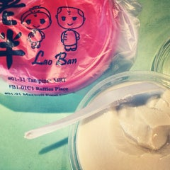 Photo taken at Lao Ban Soya Beancurd 老伴豆花 by Victoria C. on 7/22/2013