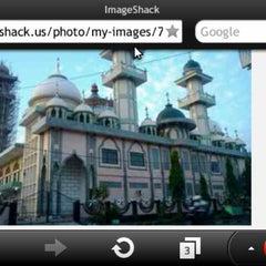 Photo taken at Masjid Agung Darul Falah by Rayhan S. on 2/1/2013
