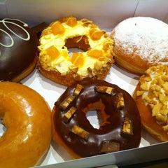 Photo taken at Krispy Kreme by Lei C. on 1/19/2013