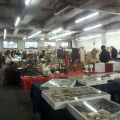Photo taken at The Garage Antique Flea Market by Melissa S. on 1/27/2013