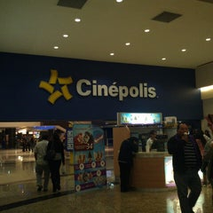 Photo taken at Cinépolis by Irving A. on 3/4/2013