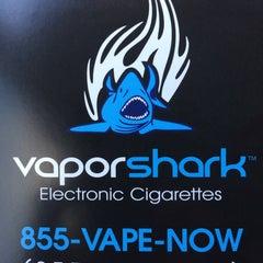 Photo taken at Vapor Shark | Electronic Cigarettes & Premium E-Liquids by Rafi V. on 2/3/2014