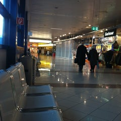 Photo taken at Gates C by Sameh A. on 12/3/2012