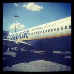"""Photo taken at Aeroporto di Roma Ciampino """"Giovan Battista Pastine"""" (CIA) by Andrea M. on 5/19/2013"""