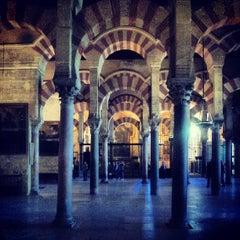 Photo taken at Mezquita-Catedral de Córdoba by Andrea M. on 5/22/2013