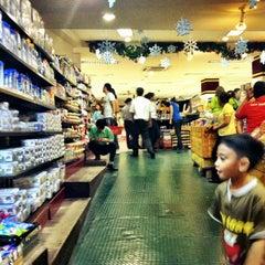 Photo taken at Setiabudi Supermarket by vivi s. on 12/30/2012