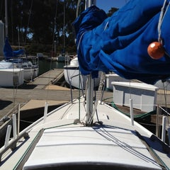 Photo taken at Coyote Point Yacht Club by Miguel C. on 10/7/2012