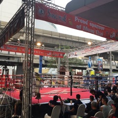 Photo taken at MBK Fight Night by AorPG R. on 3/18/2015