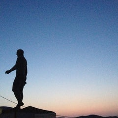 Photo taken at Άγαλμα του Μπρουκ (Brook's Statue) by ェレニ ₍. on 8/17/2013
