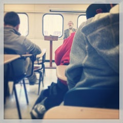 Photo taken at Wilbur Wright College by Gabrielle L. on 4/1/2013