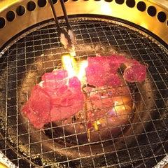 Photo taken at 焼肉 やる気 山科店 by じゅんぺ~ 。. on 1/24/2015