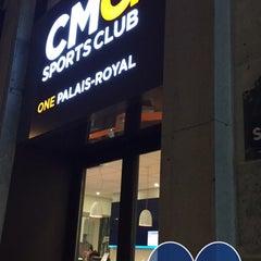 Photo taken at CMG SPORTS CLUB One Palais Royal by Julien N. on 11/23/2015