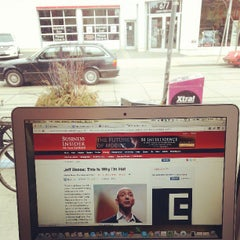 Photo taken at Dark Horse Espresso Bar by Derrick F. on 4/14/2013