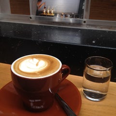Photo taken at Blue Bottle Coffee by John C. on 11/14/2013