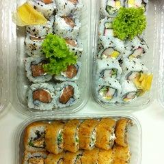 Photo taken at Manga Sushi by Jandira S. on 9/27/2012