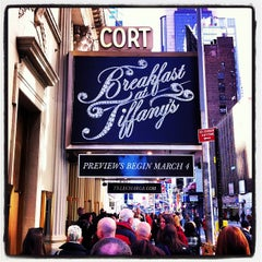 Photo taken at Cort Theatre by H H. on 3/9/2013