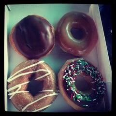 Photo taken at Krispy Kreme Doughnuts by ♔ Princess Laurel K. on 12/26/2012