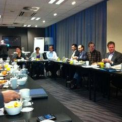 Photo taken at Van der Valk Hotel Amersfoort A1 by Theo S. on 11/2/2012