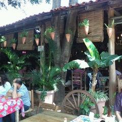 Photo taken at Restaurante Fogão Mineiro by Marina R. on 10/14/2012