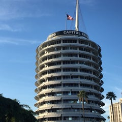 Photo taken at Capitol Records by Matt R. on 12/20/2015