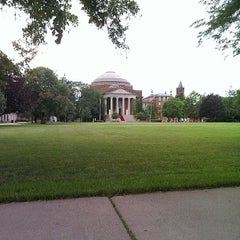 Photo taken at Syracuse University Quad by Terence N. on 7/24/2013