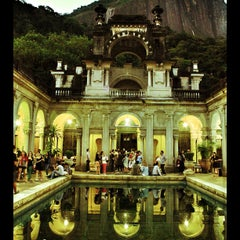 Photo taken at Parque Lage by Bruno P. on 3/2/2013
