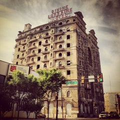 Photo taken at Divine Lorraine Hotel by Mike D. on 6/17/2013